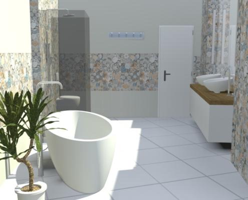 Spodní koupelna 1